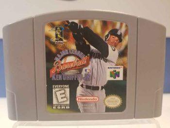 Nintendo 64: Major League Baseball Featuring Ken Griffey Jr