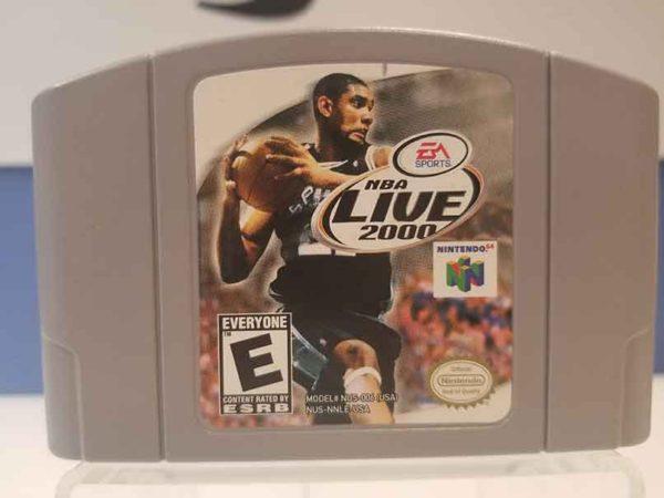 Nintendo 64: NBA Live 2000