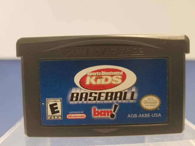 Game Boy Advance: Sport Illustrated for Kids Baseball