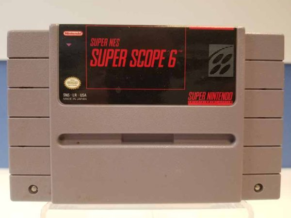 Super Nintendo: Super Scope 6
