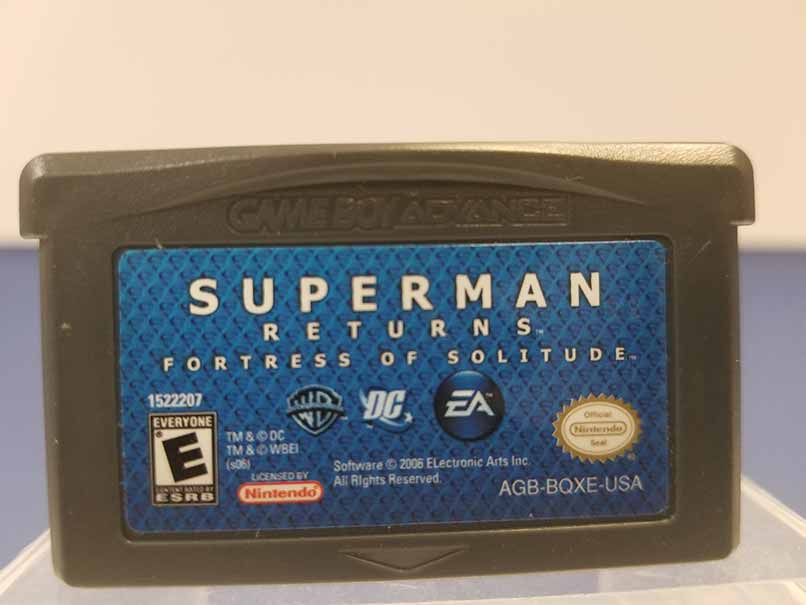 Game Boy Advance: Superman Returns Fortress of Solitude