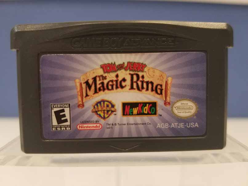 Game Boy Advance: Tom and Jerry The Magic Ring