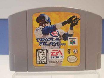Nintendo 64: Triple Play 2000