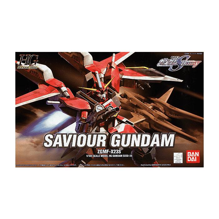 High Grade Saviour Gundam Box