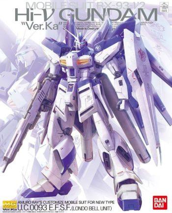 Master Grade Rx-93-v2 Hi-Nu Gundam Ver Ka Box