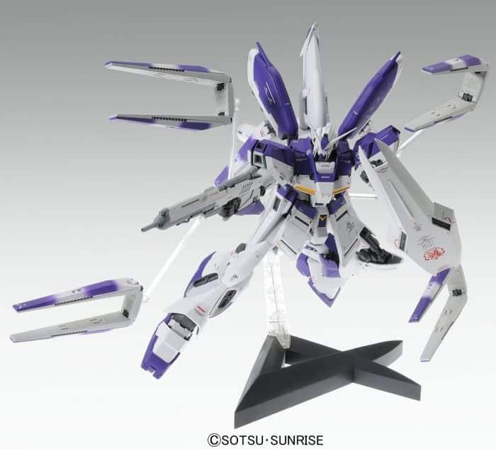 Master Grade Rx-93-v2 Hi-Nu Gundam Ver Ka Pose 1