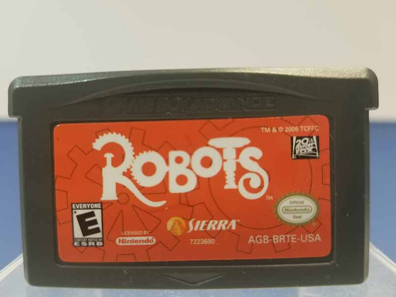 Game Boy Advance: Robots