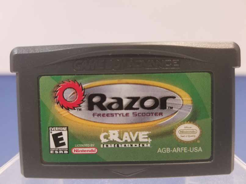 Game Boy Advance: Razor Freestyle Scooter