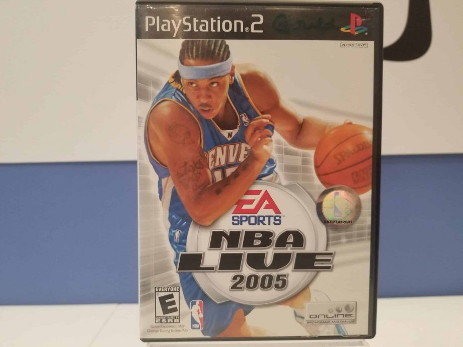 NBA Live 2005 Front
