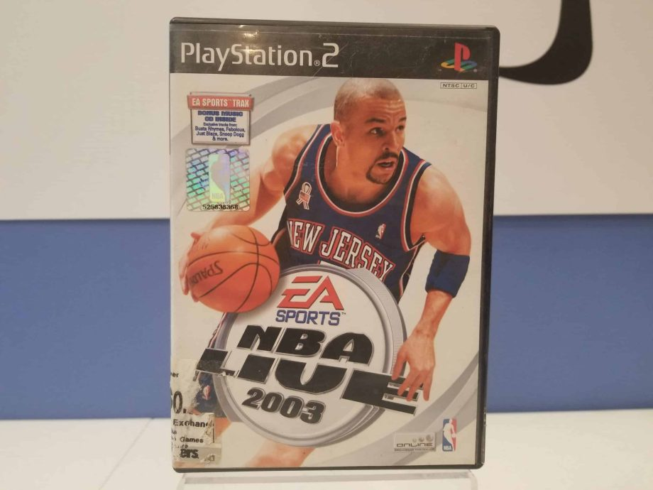 NBA Live 2003 Front