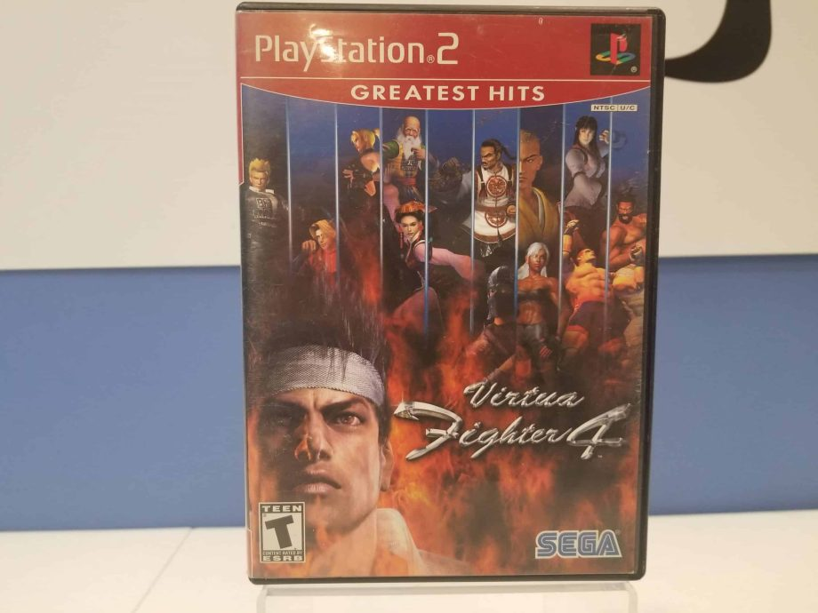 Virtua Fighter 4 Front