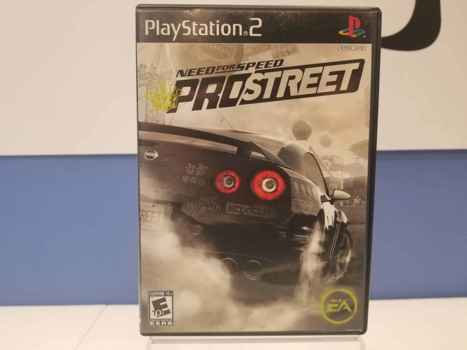 Need For Speed Pro Street Front