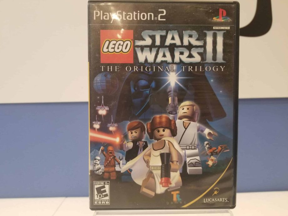 Lego Star Wars II The Original Trilogy Front