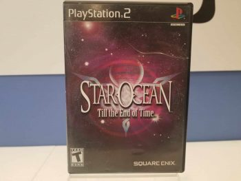 Star Ocean Till The End Of Time Front