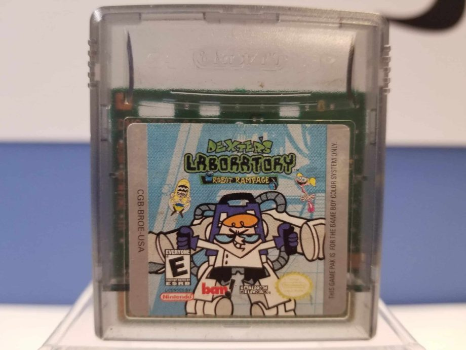 Dexter's Laboratory Robot Rampage Front