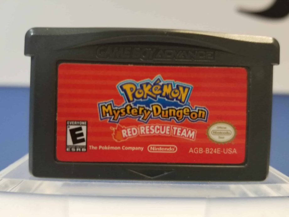 Pokemon Mystery Dungeon Red Rescue Team Front