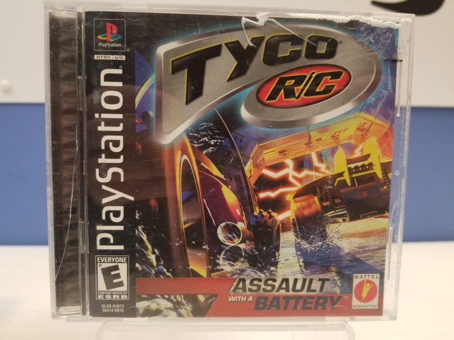 Tyco RC Assault With A Battery Front