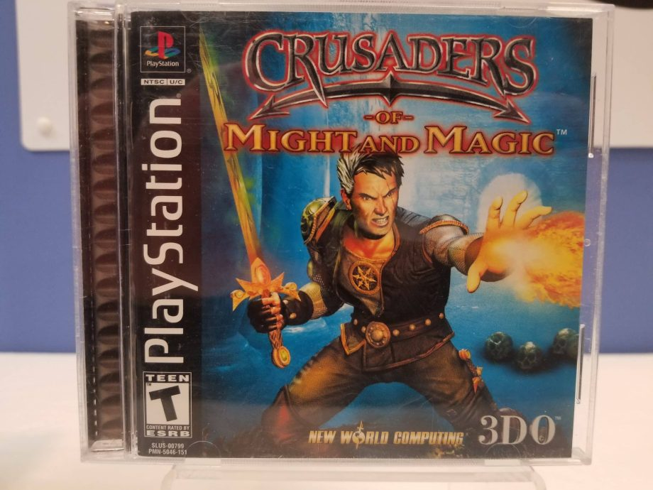 Crusaders Of Might And Magic Front