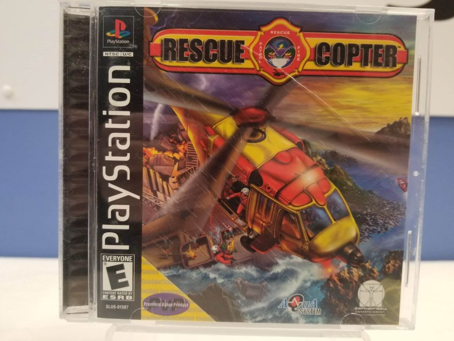 Rescue Copter Front