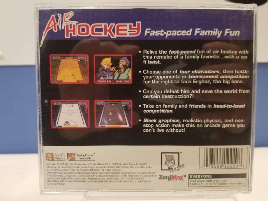 Air Hockey Back