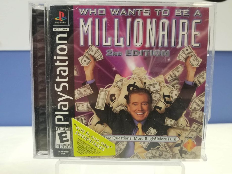 Who Wants To Be A Millionaire 2nd Edition Front