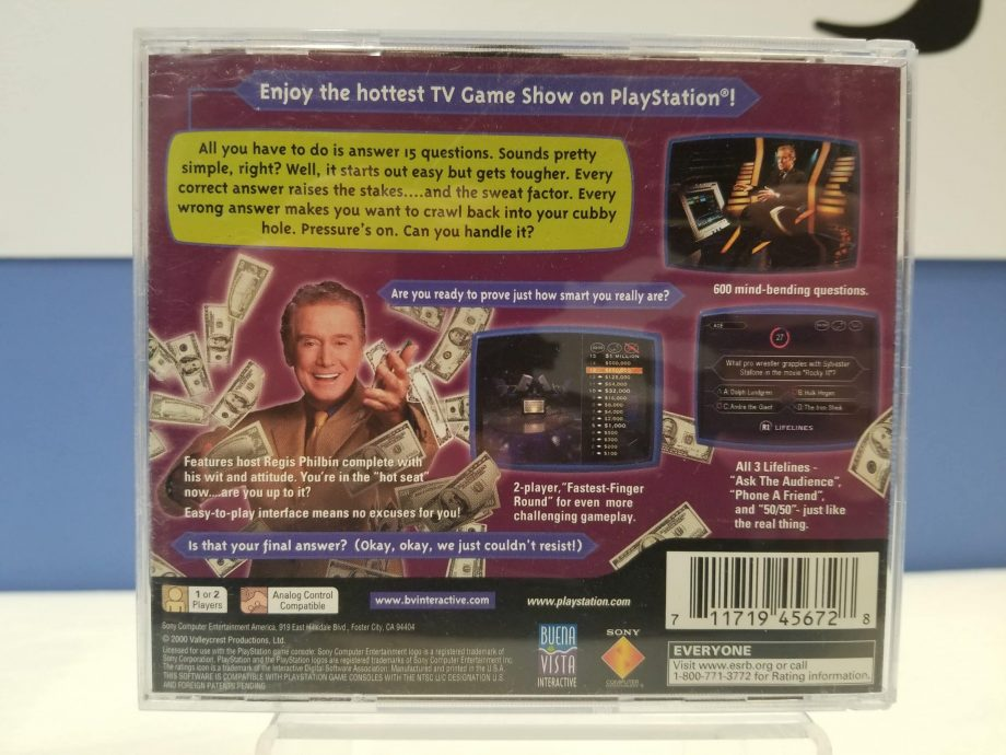 Who Wants To Be A Millionaire 2nd Edition Back