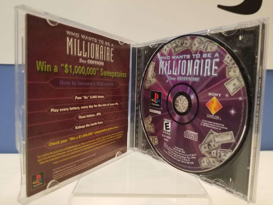 Who Wants To Be A Millionaire 2nd Edition Disc