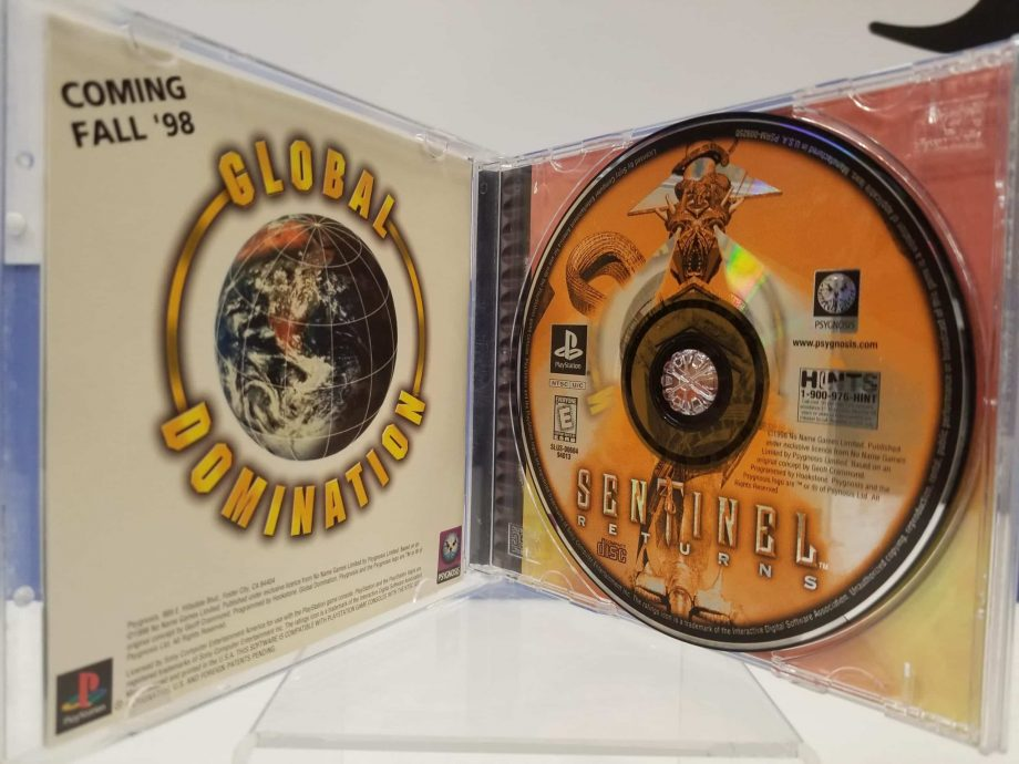 Sentinel Returns Disc