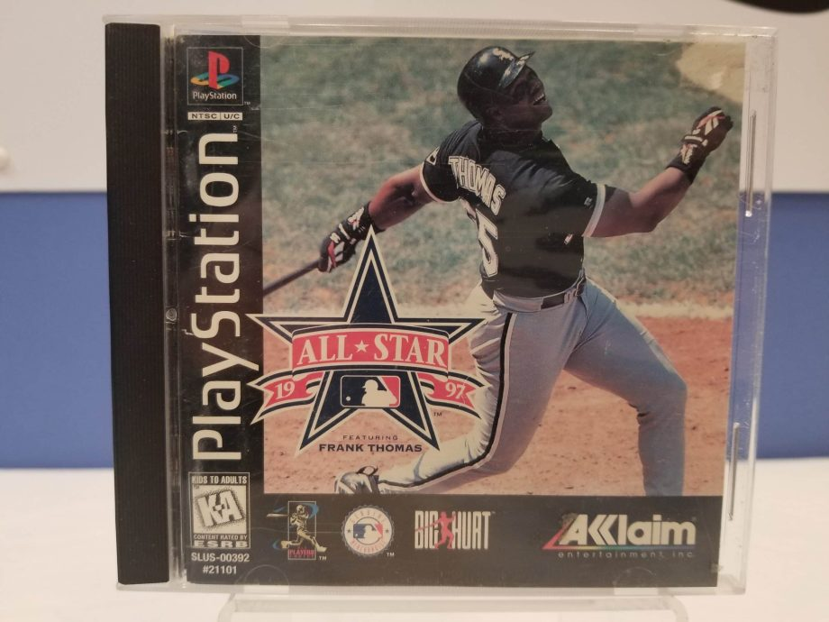 All Star Baseball '97 Featuring Frank Thomas Front