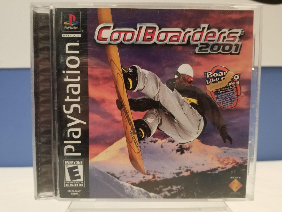 Cool Boarders 2001 Front