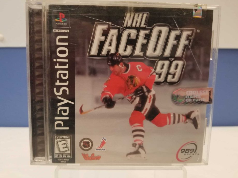 NHL FaceOff '99 Front