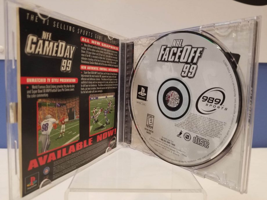 NHL FaceOff '99 Disc