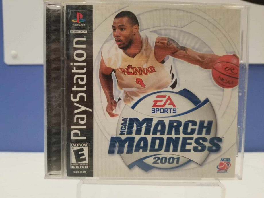NCAA March Madness 2001 Front
