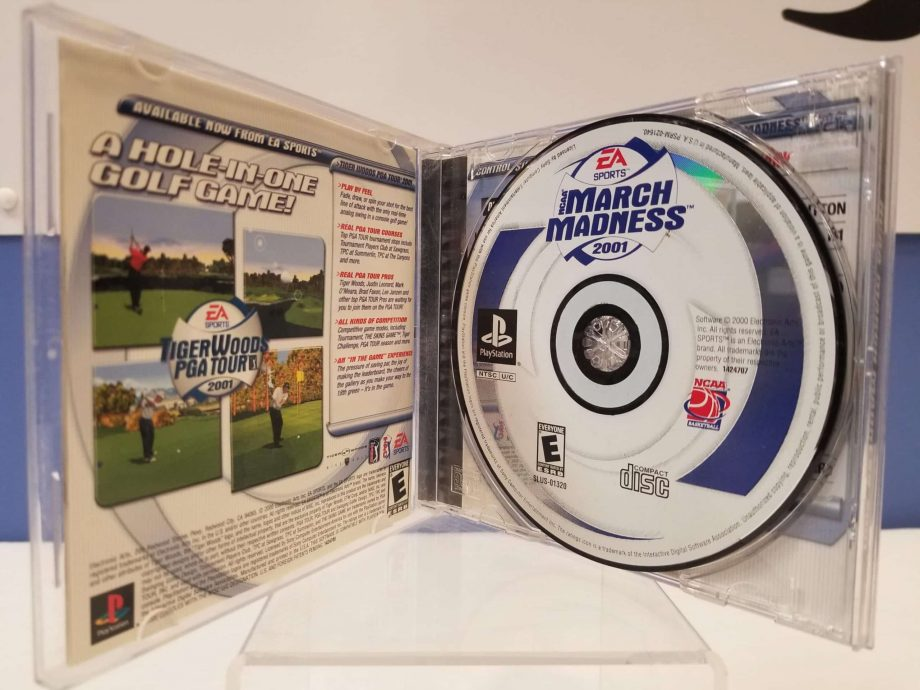 NCAA March Madness 2001 Disc