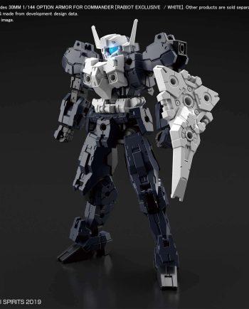 Rabiot White Option Armor for Commander Pose 1