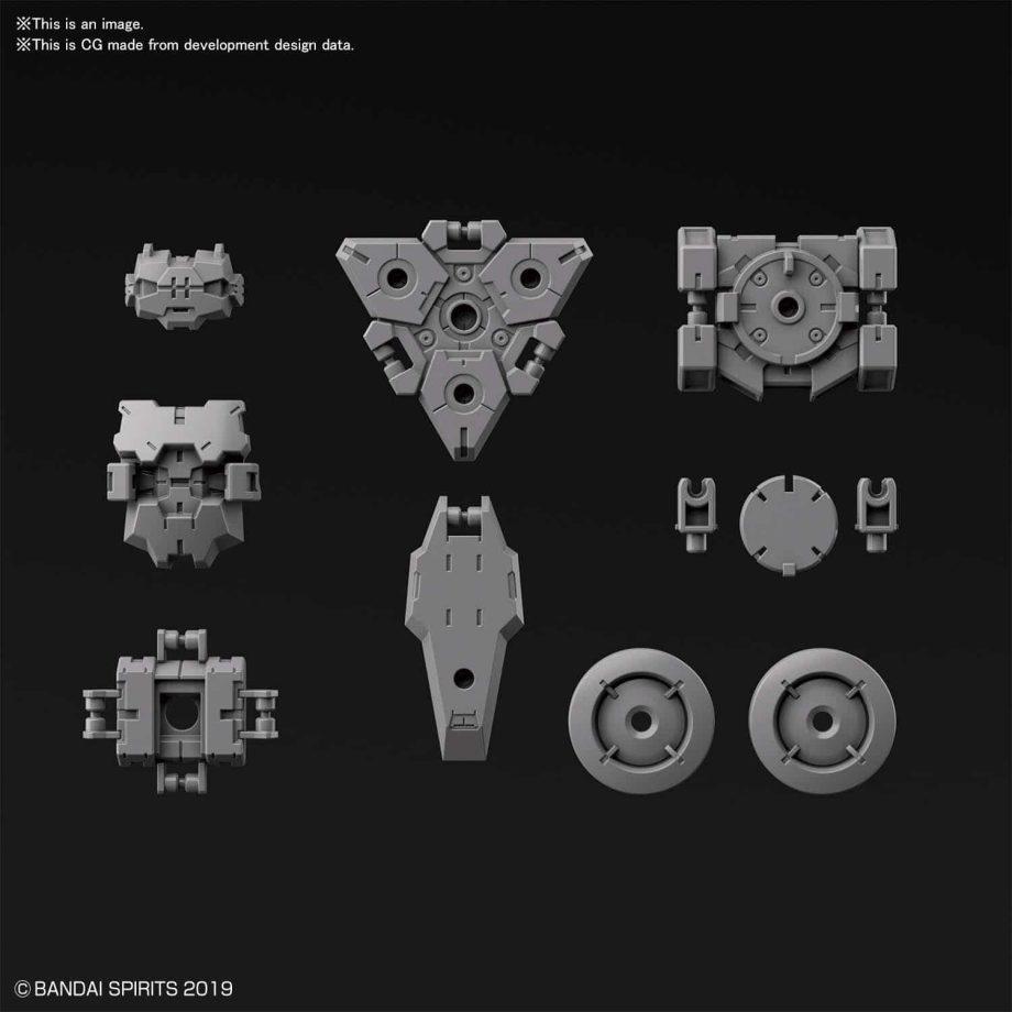 Rabiot Option Armor For Spy Drone Light Gray Pose 2