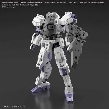 Rabiot Option Armor For Spy Drone Light Gray Pose 1