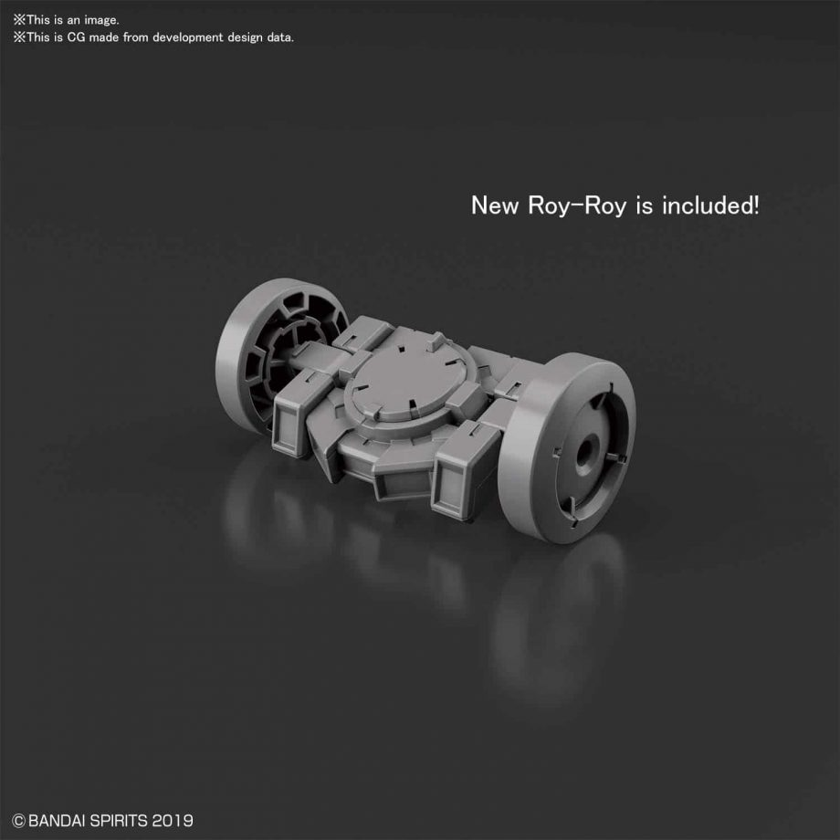 Rabiot Option Armor For Spy Drone Light Gray Pose 3