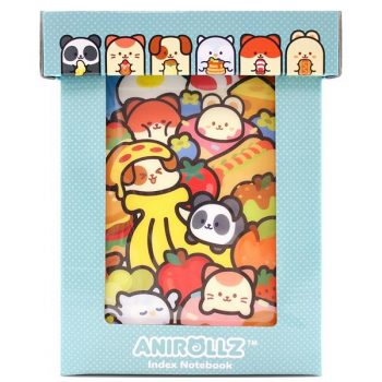 AniRollz: 6 Index Notebook Box