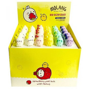 Molang Figure Gel Pen Box