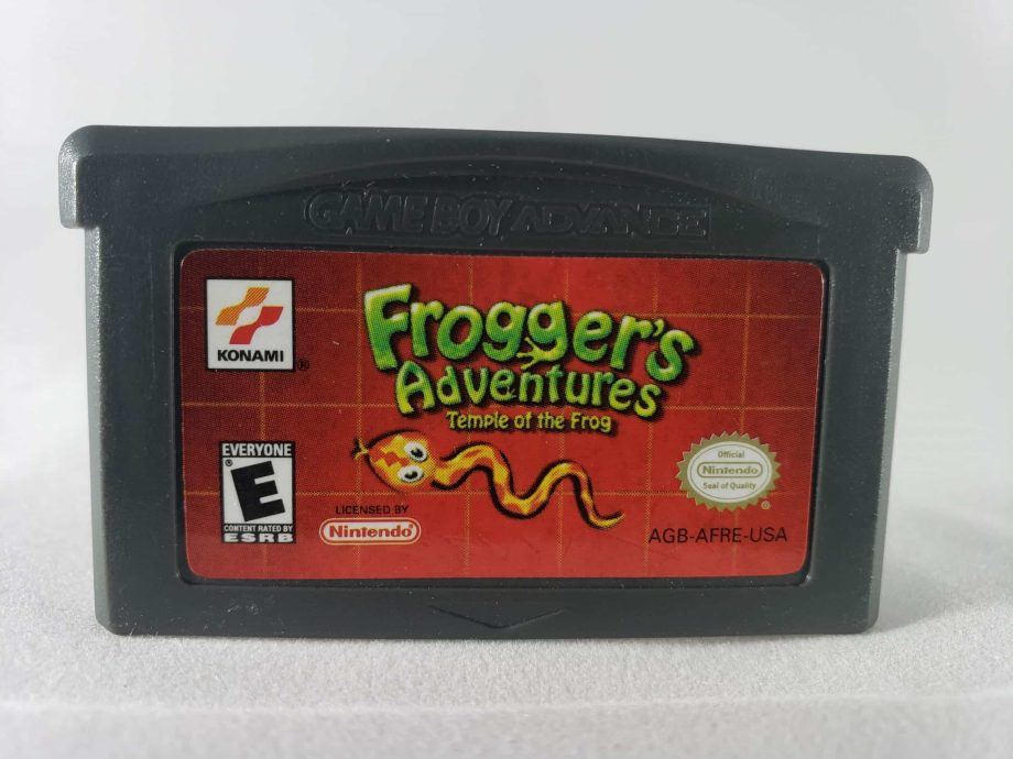 Frogger's Adventure Temple of the Frog