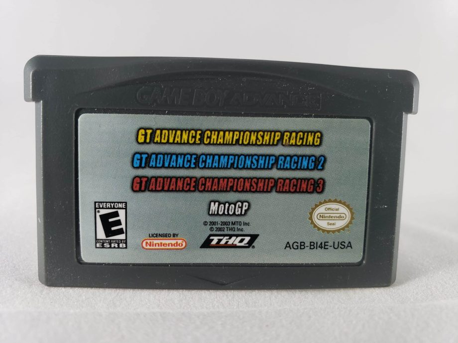 GT Advance Championship Racing 1, 2, and 3