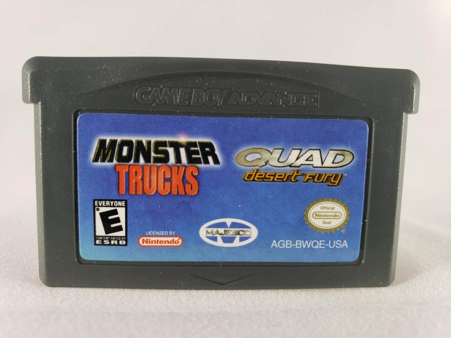 Monster Trucks and Quad Fury Double Pack