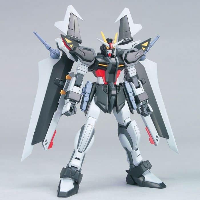 High Grade Strike Noir Gundam Pose 1