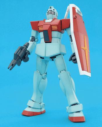 Master Grade RGM-79 GM Ver 2.0 Pose 1