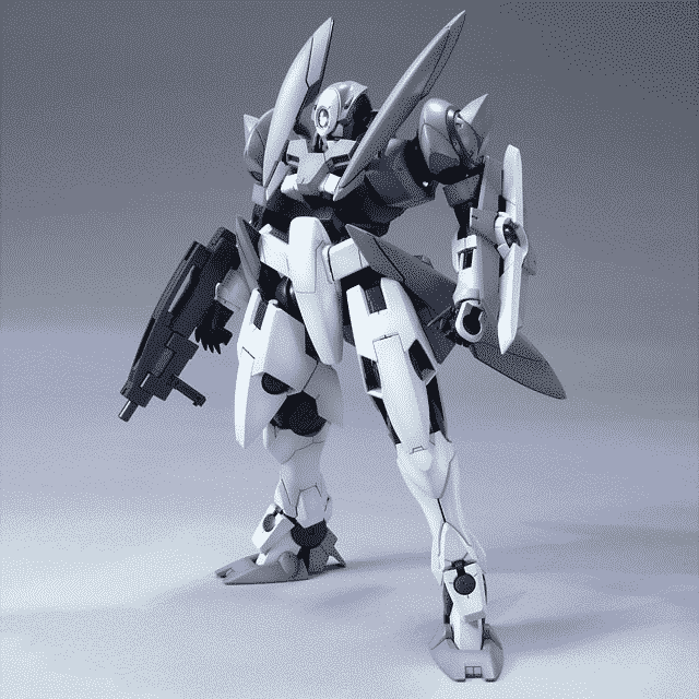Master Grade GN-X Pose 1