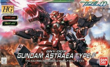 High Grade 00 Gundam Astraea Type F Box