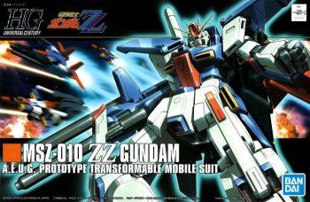 High Grade MSZ-010 ZZ Gundam Box