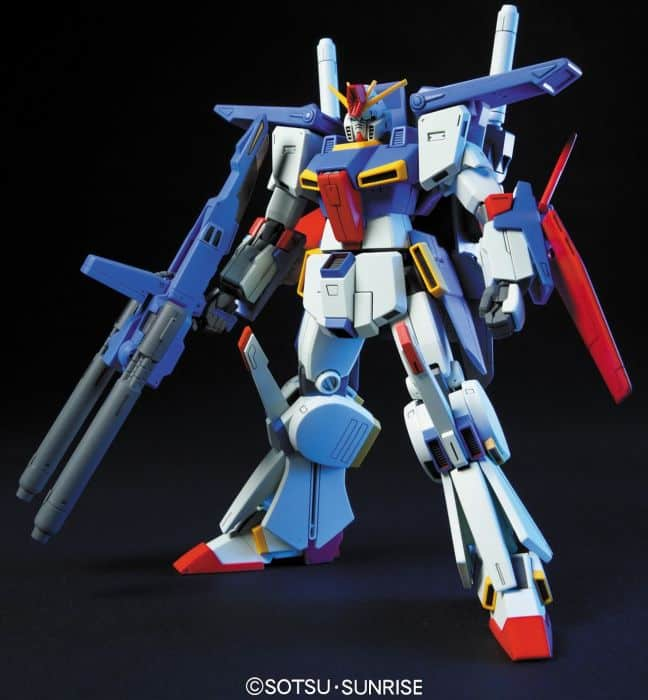 High Grade MSZ-010 ZZ Gundam Pose 1
