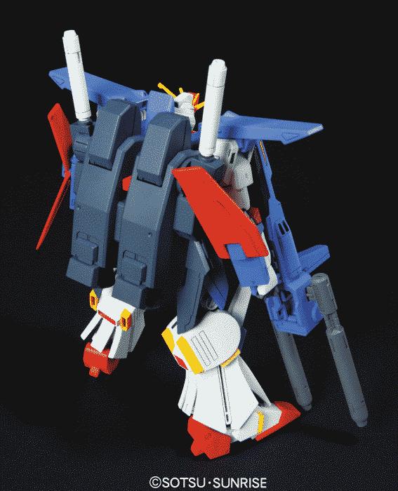 High Grade MSZ-010 ZZ Gundam Pose 2